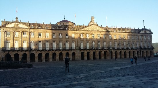 Plaza del Obradoiro: Plaza del Obrador