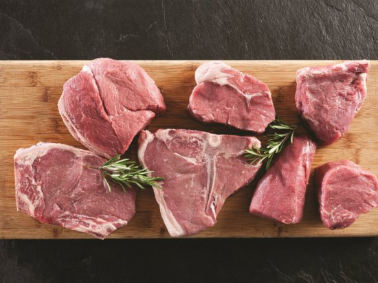 The Hussar Grill Paarl: Meat Selection