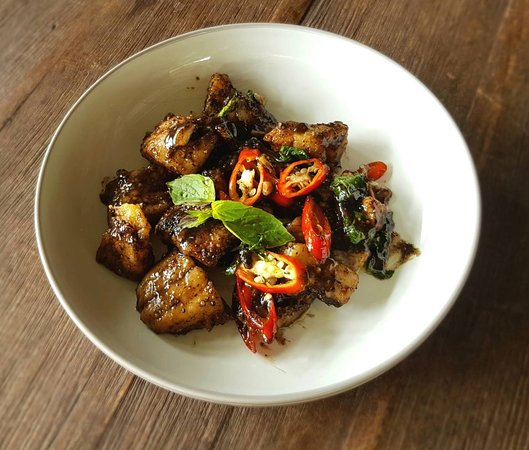 Thai Spice Cuisine: Fried Fish with pepper