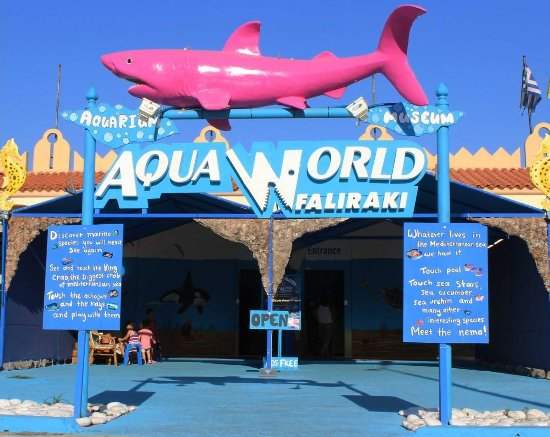 ‪Aquarium Of Faliraki (Aquaworld)‬