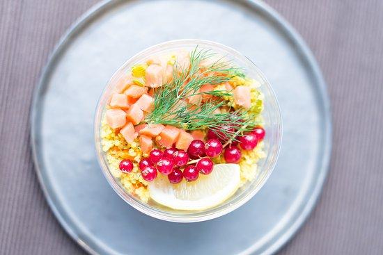 cojean Laffitte: des salades renouvelées au rythme des saisons.