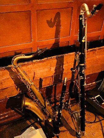 Glenn Miller Cafe: Instrumenten