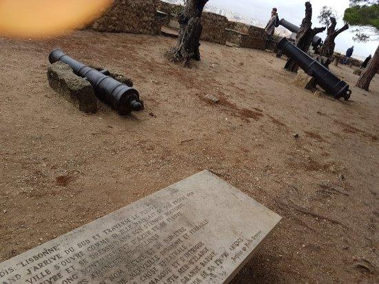 Castelo de S. Jorge: Altro cannone