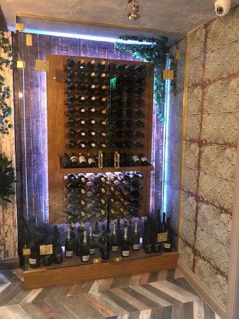 The Quarry Bar & Bottlery: Downstairs Restaurant