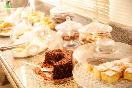 Galatas Central Hotel: cafe da manha