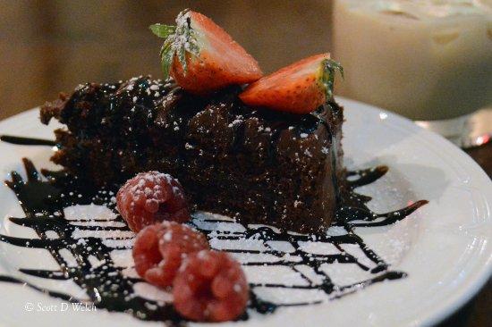 Chocolate Layered Cake - Brambletye Hotel