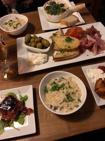 Restaurang Davidshall: Blandade tapas