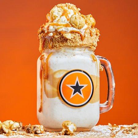 RocoMamas Kolonnade: Salted Caramel Freakshake