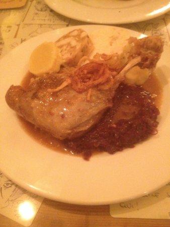Restaurace U Schnellu: Утиная ножка