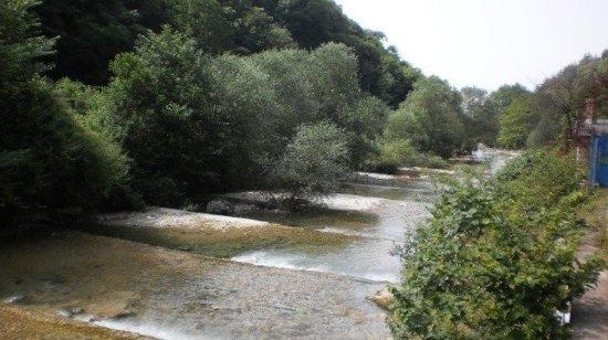 Holiday Park Zhoekvara: Река Жоэквара