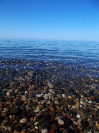 Holiday Park Zhoekvara: Самое чисто море