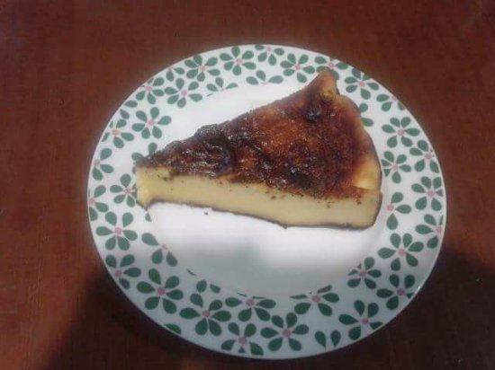 Cafe Bar Cofradia: Tarta de queixo / Tarta de queso