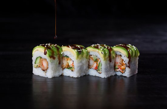 Sushi Palace Gent: Must try alert !!! 'The Dreaming California'
