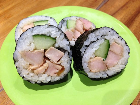 Tao Cafe: Chicken and Cucumber Sushi
