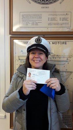 Scuola Nautica Gini: I passed my boat license!