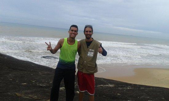 Capivara Trail: Nosso querido instrutor, Giovani!