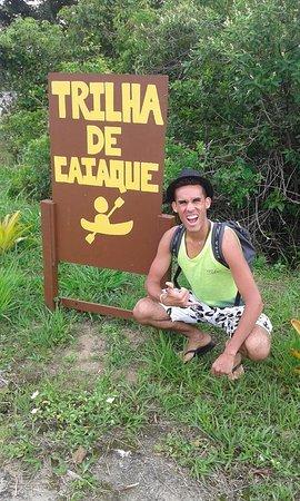 Capivara Trail: Entrada do Parque
