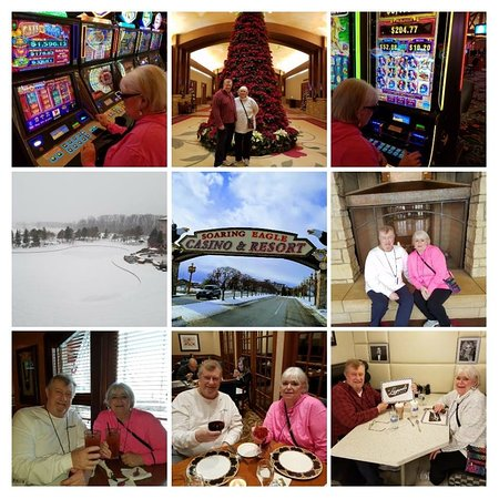 Soaring Eagle Casino & Resort: A collage of various areas and eateries of the Resort!