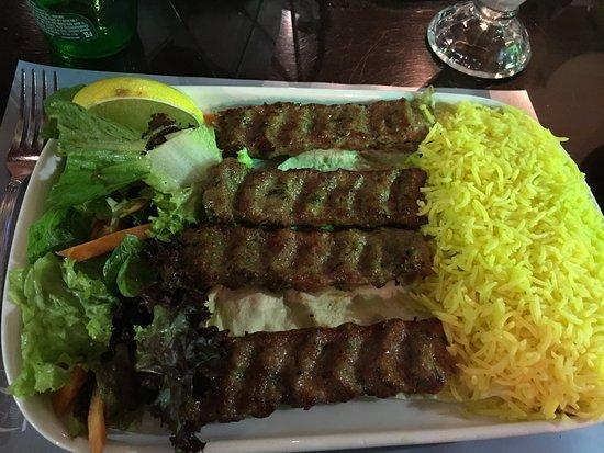 Al Bindaira Cafe: Lamb dish