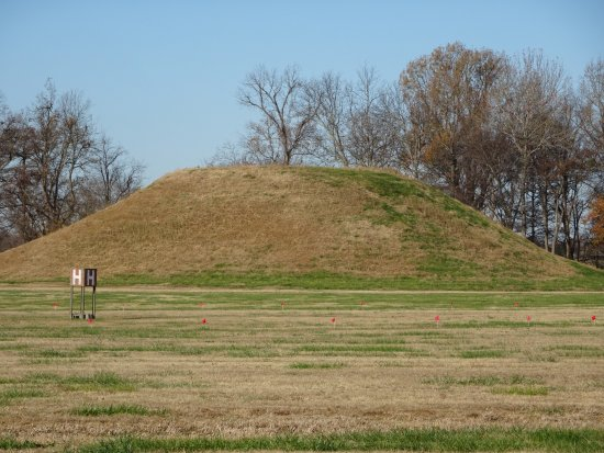 Toltec Mounds Archaeological State Park: mound