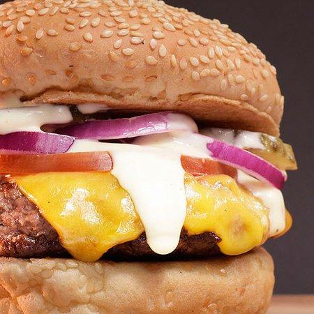 RocoMamas Umhlanga Village: Claasic Cheese Burger