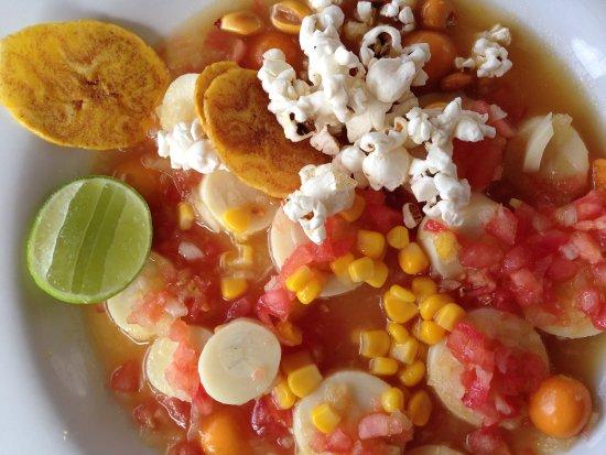 El Crater Restaurant: Ceviche