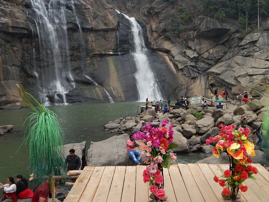 Hudru Falls: Photo areas