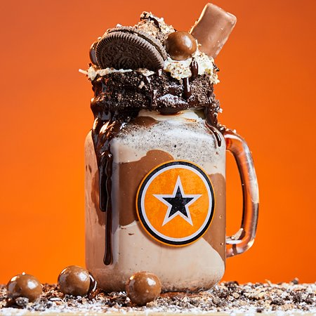 RocoMamas Mall of Africa: Slow Death by Chocolate Freakshake