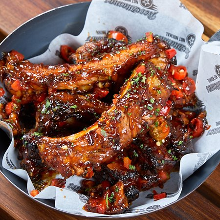 RocoMamas Mall of Africa: Sweet Fire Ribs