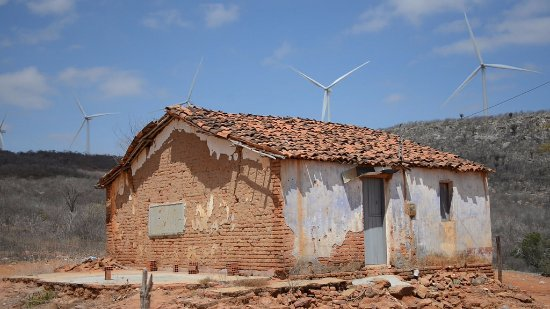 Araripina, PE: Parque Eolico Ventos do Araripe III