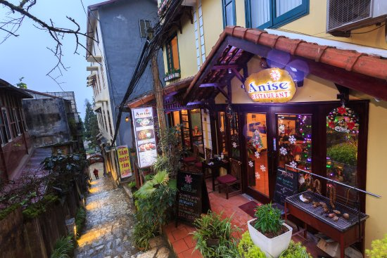 Anise Sapa Hotel: Restaurant