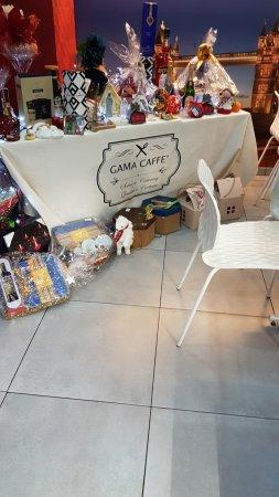 Gama Caffe: Interno