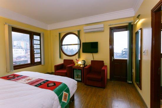 Anise Sapa Hotel: deluxe room