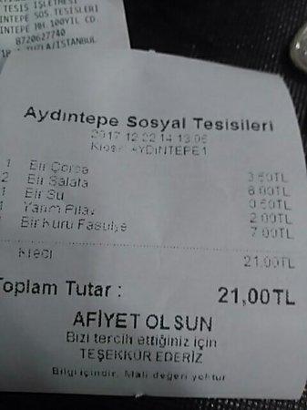 Tuzla Belediyesi Aydintepe Sosyal Tesisleri: Güzel bir mekan