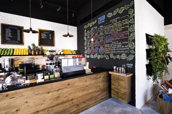 Zoga Yoga Cafe: Healthy Cafe