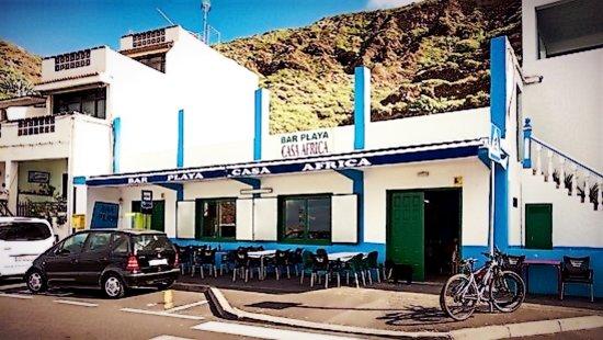 Casa Africa - Bar Playa: Casa Africa front view