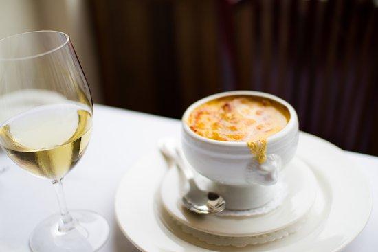 Restaurant Lemeac: Crème de potiron gratinée