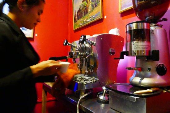 La Terrazza: Do you feel like having a perfect coffee ? ....