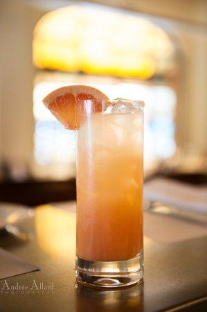 Restaurant Lemeac: Paloma - téquila, jus de lime, jus de pamplemousse, soda