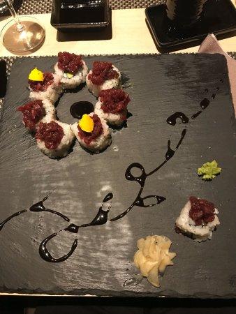 Kokoro Ristorante Giapponese: uramaki con pere caramellate