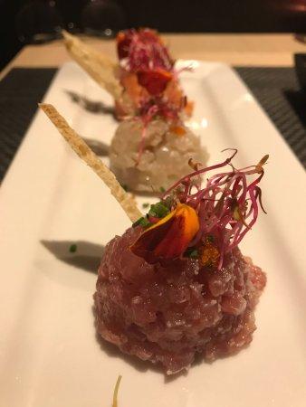 Kokoro Ristorante Giapponese: tris di tartare