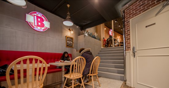 Brothers Crepes Cafe Seating With Cozy Atmosphere