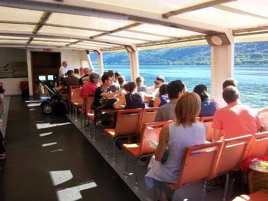 Alessandra Cacciatore Guida Turistica Lago d'Orta: durante la crociera