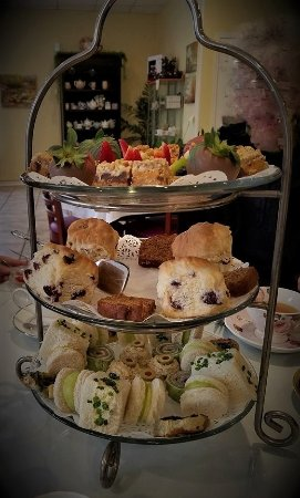 Serenity Tearoom & Fine Dining: Our tier of tasty treats
