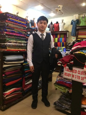 Gia Huy Silk Tailor Shop: He ordered a lots of shirts and suit here.