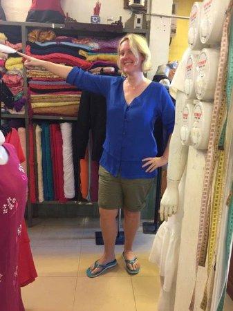 Gia Huy Silk Tailor Shop: Let's go.