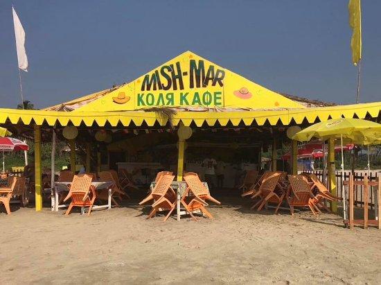 Mish Mar on Majorda beach