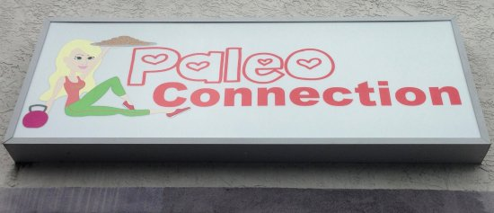 Paleo Connection: Sign above the door