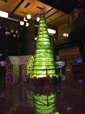Aloft Bengaluru Cessna Business Park: Creativу Christmas Tree