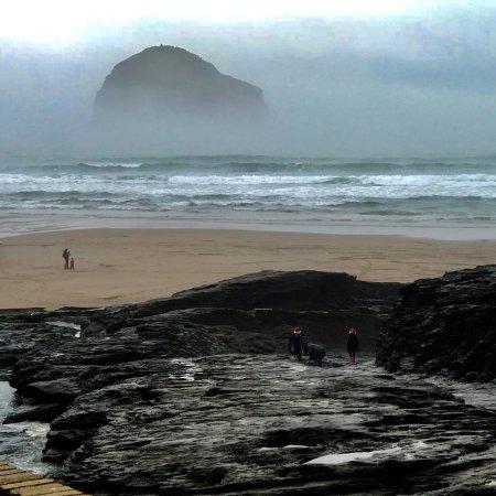 Trebarwith Strand Beach Photo